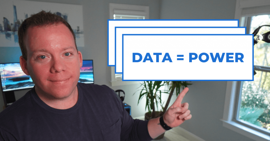data equals power