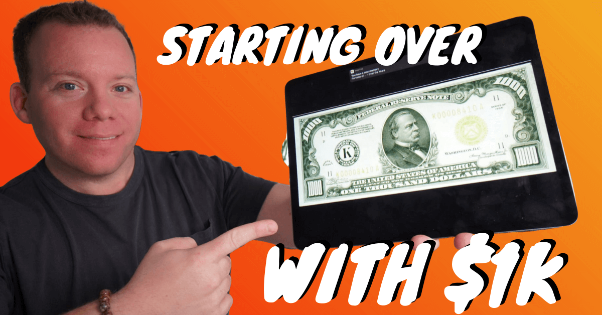 Starting Over (with $1K and NO Connections!)