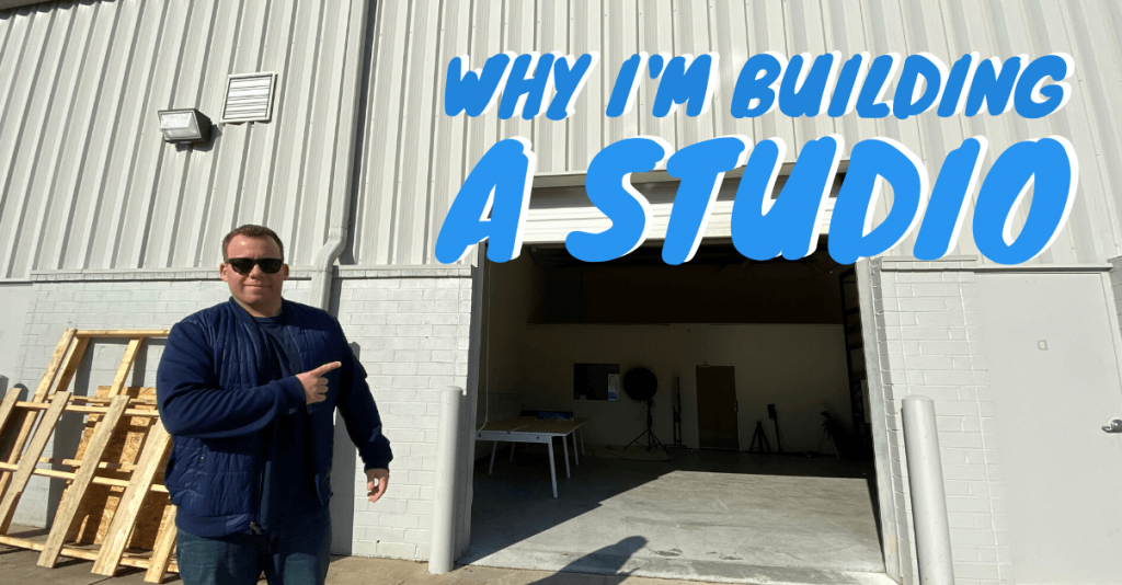 why im building a studio