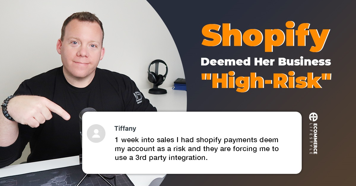 """Shopify Payments Deemed Her Businesses """"High-Risk"""""""